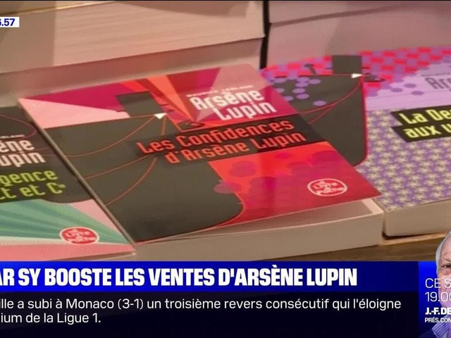 Omar Sy booste les ventes d'Arsène Lupin - 24/01