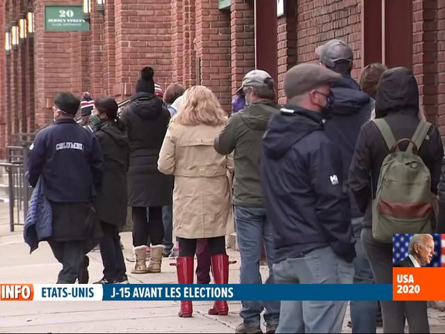 Elections aux Etats-Unis: à 15 jours du Jour-J, voici pourquoi le vote anticipé connaît un succès phénoménal