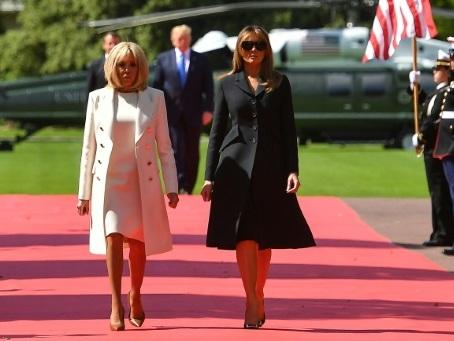"""G7: culture basque et surf pour les """"premières dames"""""""