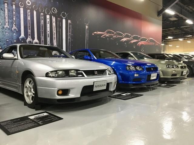 Avant le Salon de Tokyo, visite de l'incroyable collection Nissan Héritage !