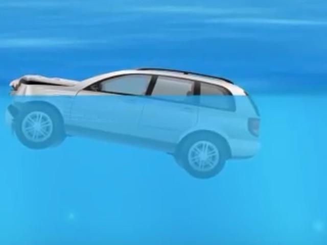 Comment s'extirper le plus vite possible d'une voiture qui coule