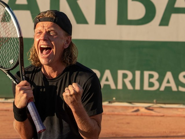 """Dans """"5ème set"""", comment la scène finale du match de tennis a été tournée"""