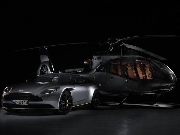 Aston Martin et Airbus associés sur le thème de l'hélicoptère
