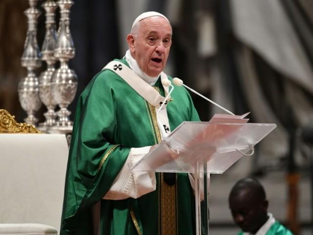 """Amazonie: cesser """"d'infliger des blessures à notre soeur terre"""", demande le pape"""