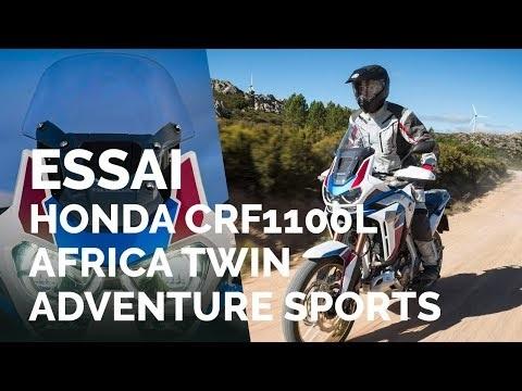 Essai Honda Africa Twin Adventure Sports