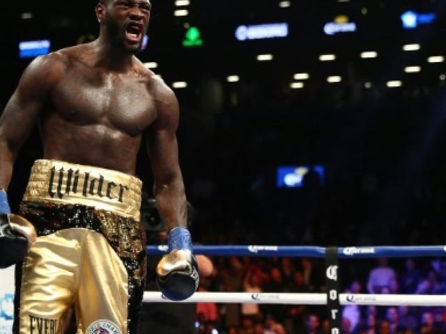 Boxe: Wilder remettra en jeu son titre WBC des lourds le 3 mars contre Ortiz