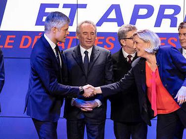 """Débat des chefs de partis: Le Pen accuse Wauquiez de """"contrefaçon"""""""