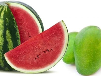 """""""Vert pastèque"""" ou """"vert mangue"""""""