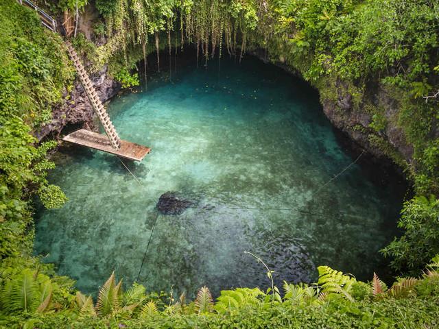 À la découverte des plus belles piscines naturelles du monde !