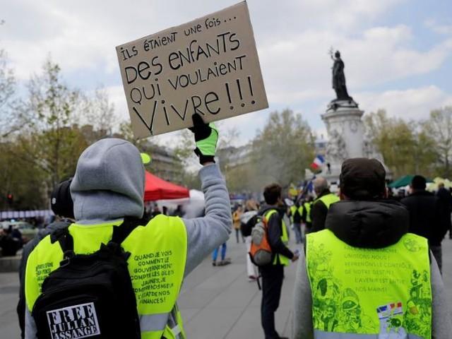 Gilets jaunes: le parcours de la manifestation de samedi 13 à Paris (plan)