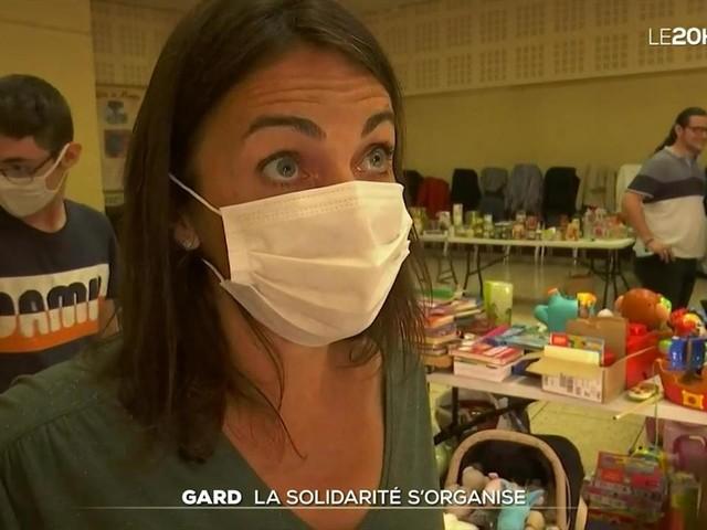Intempéries dans le Gard : l'entraide entre sinistrés