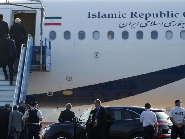 Iran: les discussions avec Zarif sont «positives» et «vont se poursuivre»