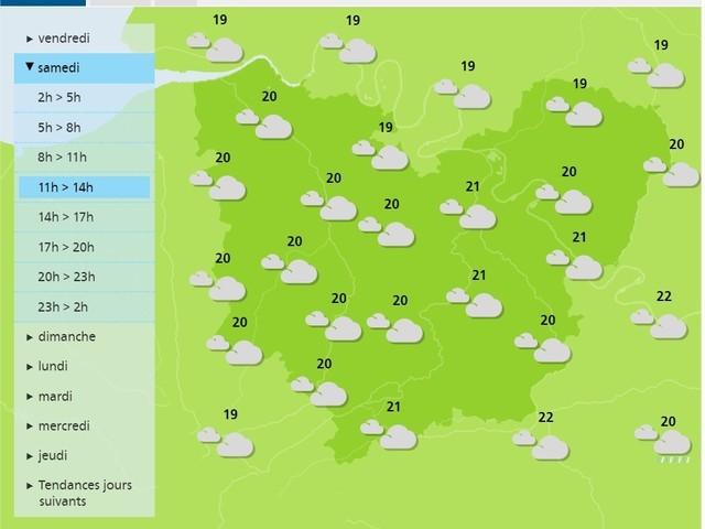 Eure. La météo du samedi 4 juillet 2020 et les fêtes à souhaiter