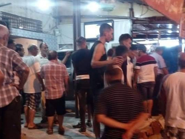 Tunisie[Photos]: Un chauffard percute cinq personnes dans un café à Kairouan