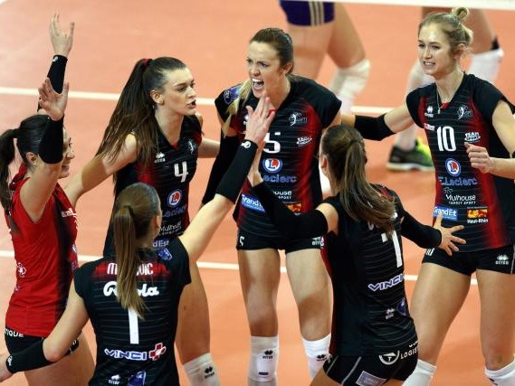 Volley - Ligue A (F) - Ligue A (F) : Mulhouse fait tomber Cannes