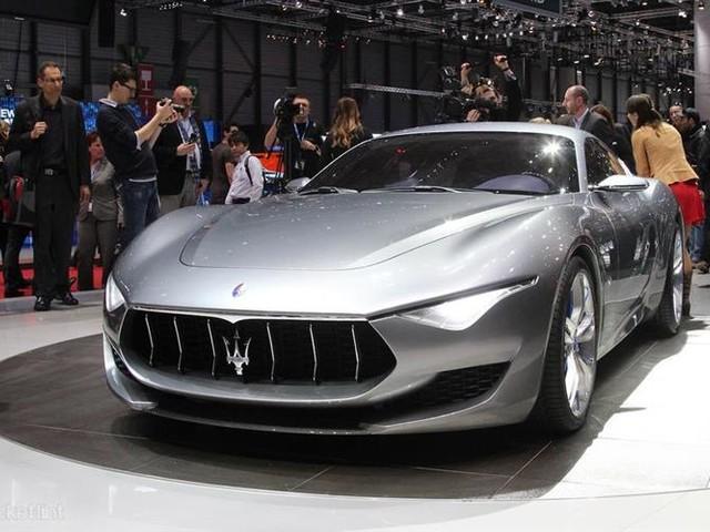 Maserati Alfieri : le coupé électrique entrera en production en 2020
