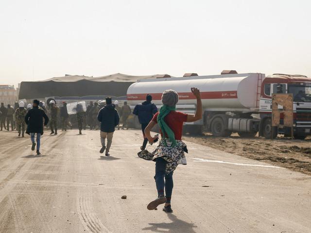 Irak: de nouveaux heurts à Bagdad et dans le sud font des blessés
