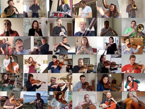 Confinés, les musiciens de l'Orchestre national de France jouent ensemble: le résultat est INCROYABLE (vidéo)