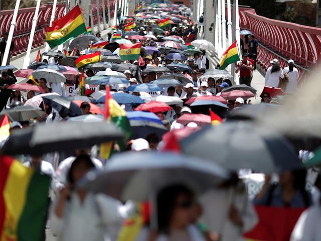 Bolivie: appel à la grève générale face à la victoire probable de Morales