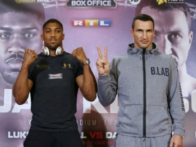 Boxe: Joshua vs Klitschko, la jeunesse veut prendre le pouvoir chez les lourds