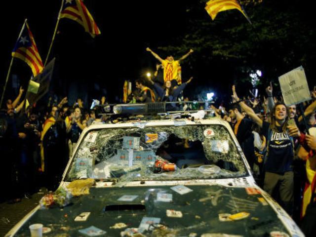 Mais que se passe-t-il en Catalogne?