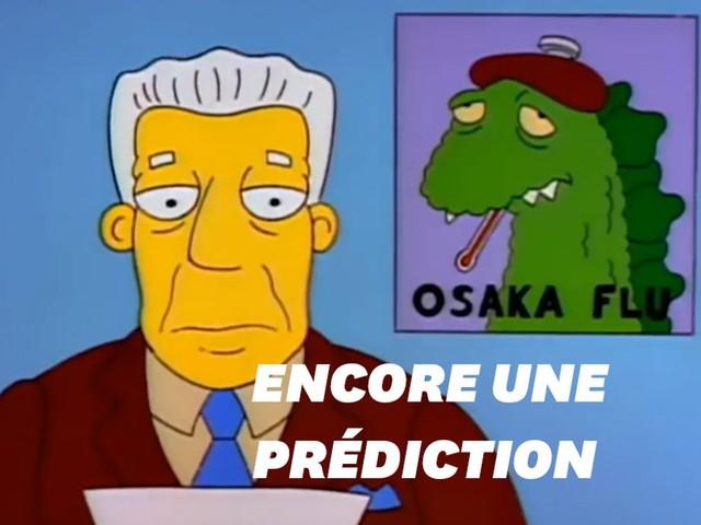"""Le coronavirus, un nouvel événement prédit par """"Les Simpson""""?"""