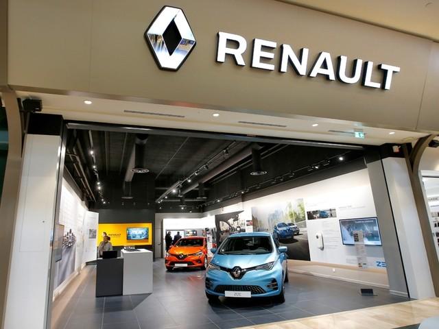 Renault City: une mini-concession dans un centre commercial