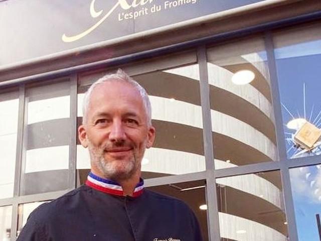 Le Rocaille, dernière création de la fromagerie toulousaine Chez Xavier