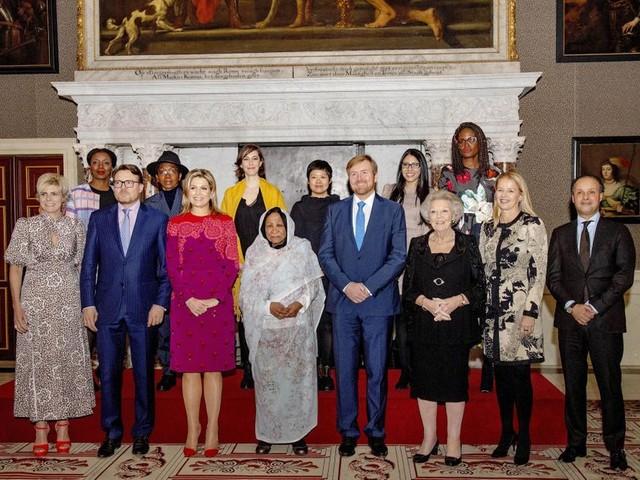 Maxima, Beatrix, Mabel et Laurentien réunies pour un prix Prince Claus 100% féminin
