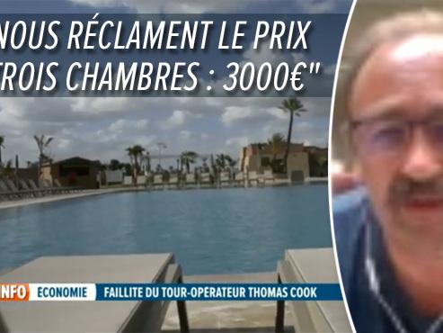 """Faillite de Thomas Cook: la famille Heylen est actuellement """"entre le marteau et l'enclume"""" à Marrakech"""