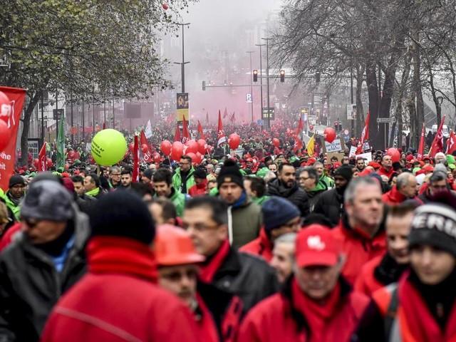 La FGTB confirme des grèves pour sa journée nationale d'actions le 14 décembre: des blocages de routes et de zonings sont prévus!