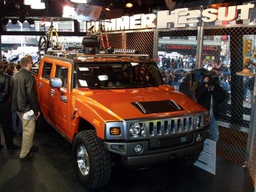 Un Hummer électrique... Arnold Schwarzenegger devrait être content