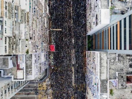 Des millions de manifestants dans les rues de Hong Kong pour demander l'annulation du projet de loi autorisant les extraditions vers la Chine