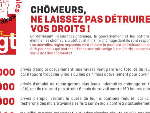11 février 2020 à 9h - Pole Emploi Lorient Marine - Action de lutte contre la casse des droits
