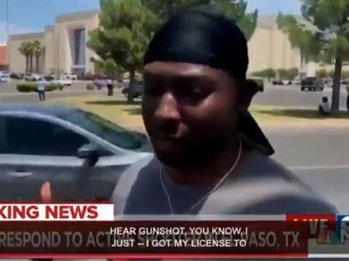 """Glen Oakley, un militaire de 22 ans, sauve des enfants de la fusillade au Texas: """"J'ai essayé d'en prendre le plus possible par la main"""""""