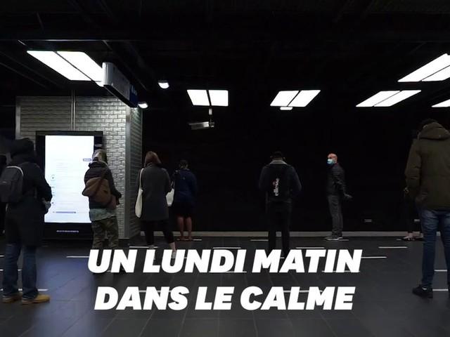 """Déconfinement: À Châtelet au matin du 11 mai, les gens """"respectent les règles"""""""