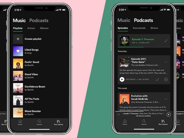 Des utilisateurs de Spotify basculent sur Apple Music suite à la dernière mise à jour