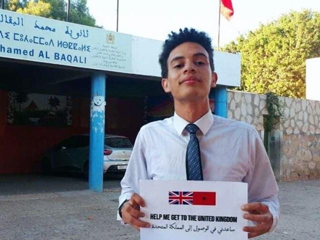 Ce jeune marocain repéré par l'université de Cambridge lance une campagne pour payer ses frais