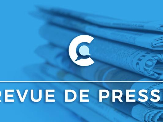 Revue de presse du 13/10/2019