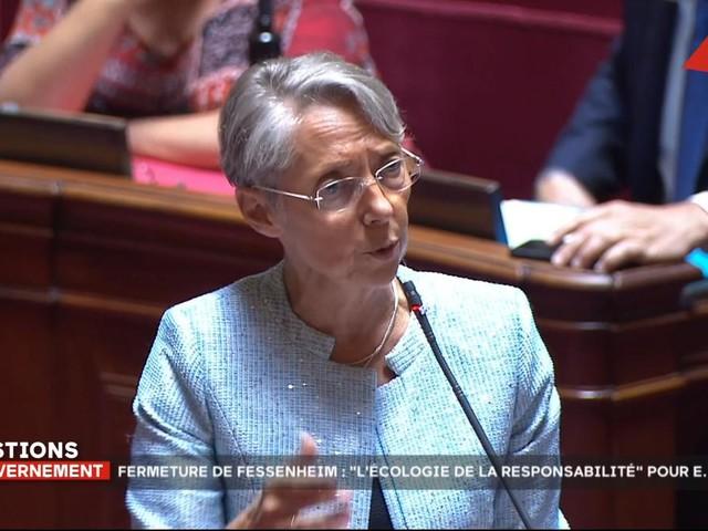 «L'arrêt de Fessenheim incarne l'écologie de responsabilité» déclare Élisabeth Borne