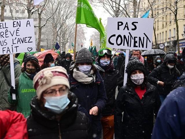 """Contre la loi """"sécurité globale"""", nouvelle journée de manifestation dans toute la France"""