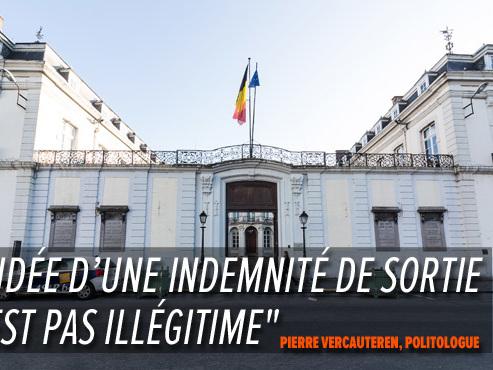 """184.000 euros bruts d'indemnités de sortie, alors qu'il reste à la Province de Namur: """"C'est légal, mais c'est mal vu"""""""