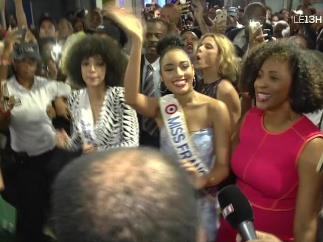 Miss France 2020 : les images du retour triomphal de Clémence Botino en Guadeloupe