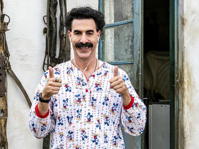 """""""Borat 2"""" : cette fois, les provocations de Sacha Baron Cohen tombent à plat"""
