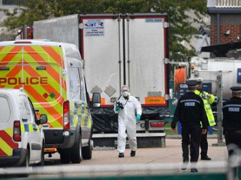 L'enquête sur le camion charnier en Angleterre avance: la police belge a permis d'arrêter un cinquième suspect irlandais