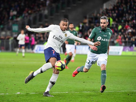 L1 : Le PSG domine l'ASSE, c'est signé Mbappé