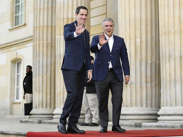 L'opposant vénézuélien Juan Guaido en Colombie pour voir Pompeo