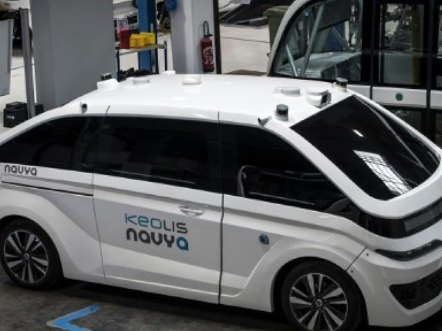 Les robots-taxi de Navya prêts à faire leurs premières courses à Lyon