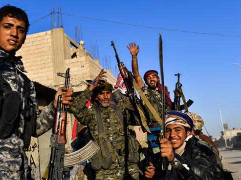 C'est fini: l'État islamique a perdu la bataille de Raqa