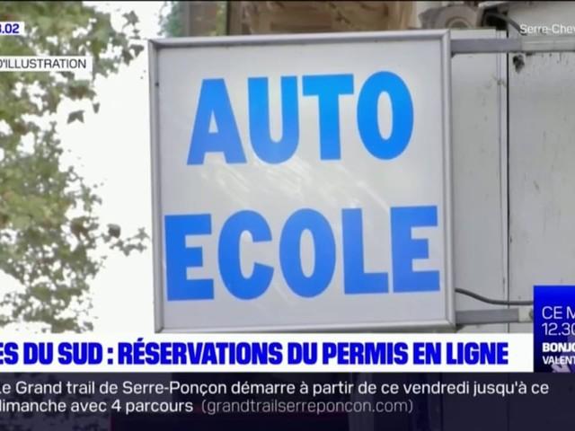 Les inscriptions en ligne au permis de conduire dans les Alpes du Sud